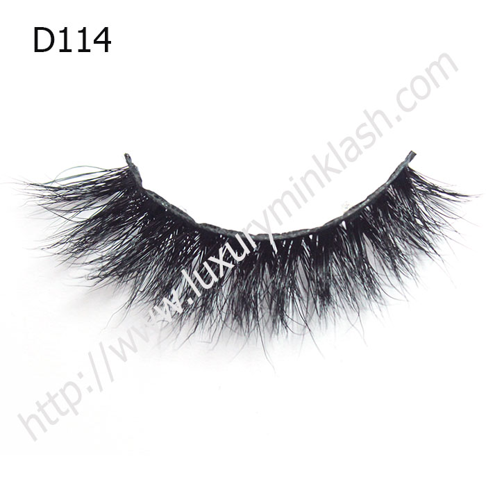 Best 3D Mink Strip Lashes D114